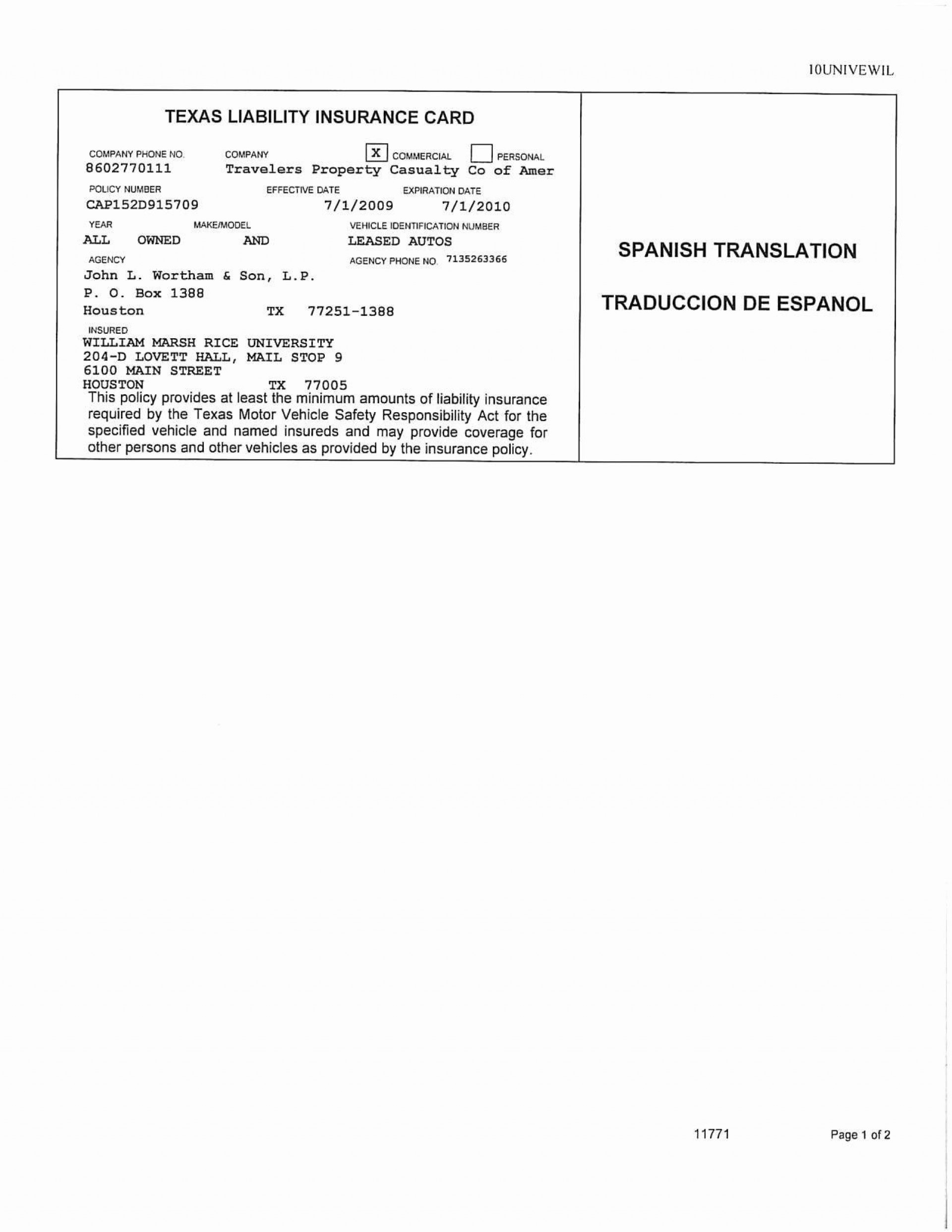 001 Simple Auto Insurance Card Template Pdf High Resolution  Car Fake Geico Filler1920