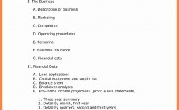 001 Simple Busines Plan Word Template Highest Clarity  Templates Doc Free Download Sale