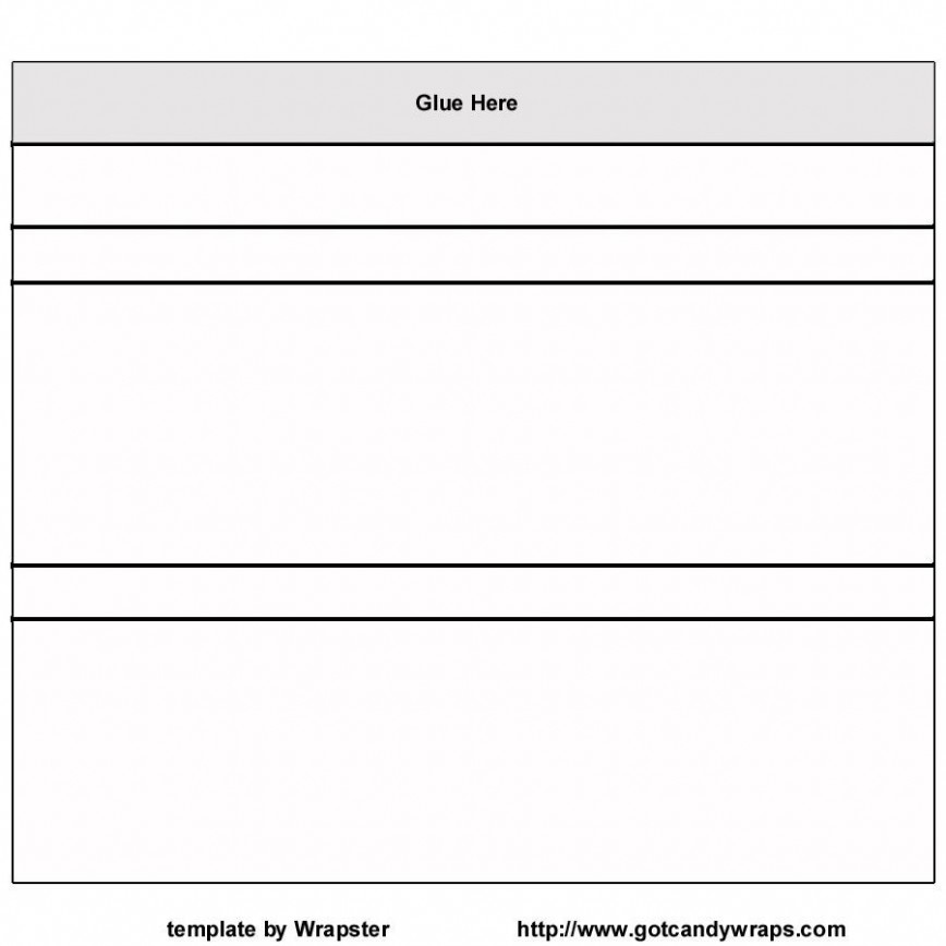 001 Simple Candy Bar Wrapper Template For Word Free Concept  Printable Mini
