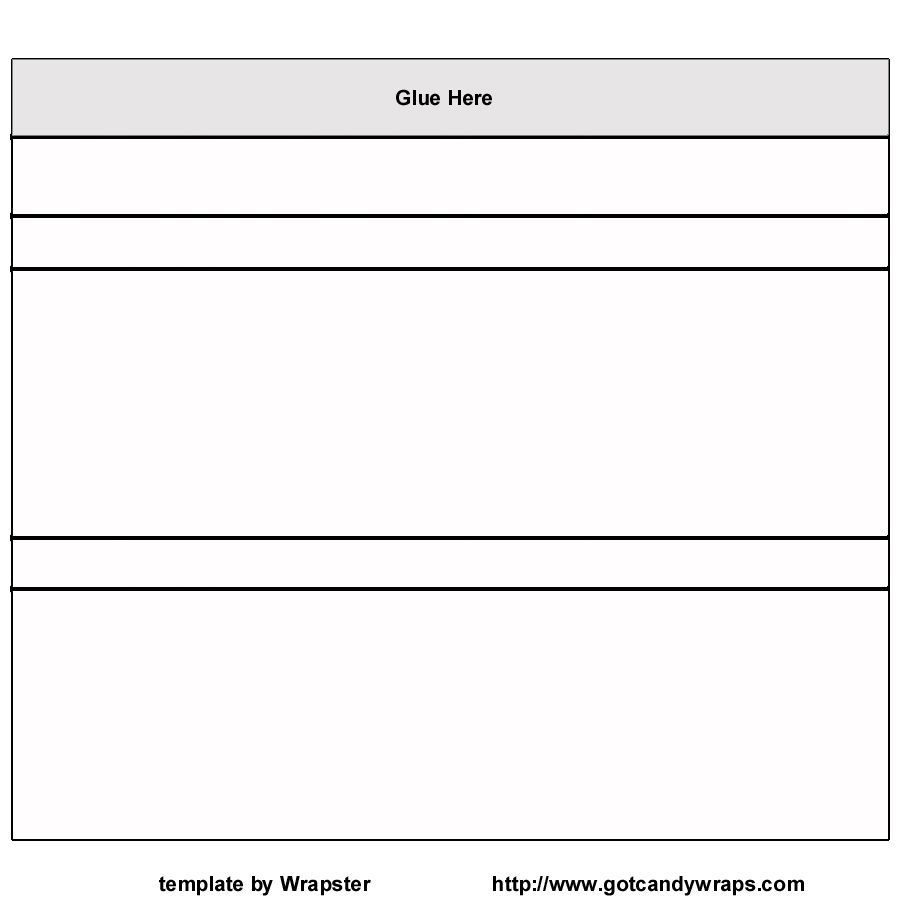 001 Simple Candy Bar Wrapper Template For Word Free Concept  Printable MicrosoftFull