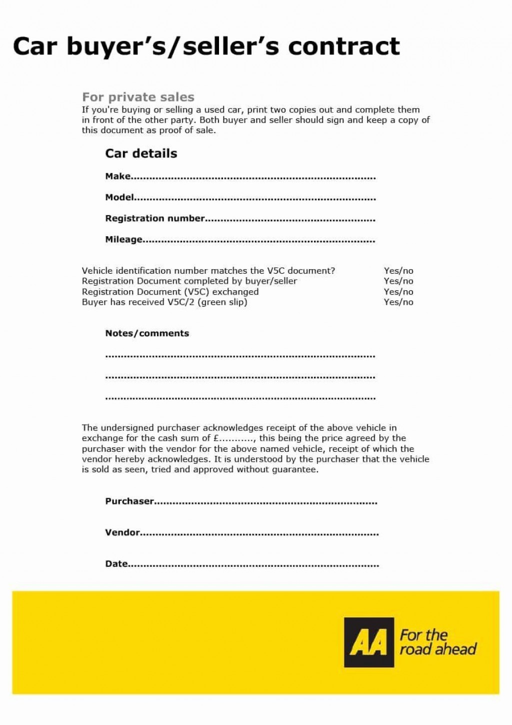 001 Simple Car Rental Agreement Template South Africa High Def  Vehicle ContractLarge