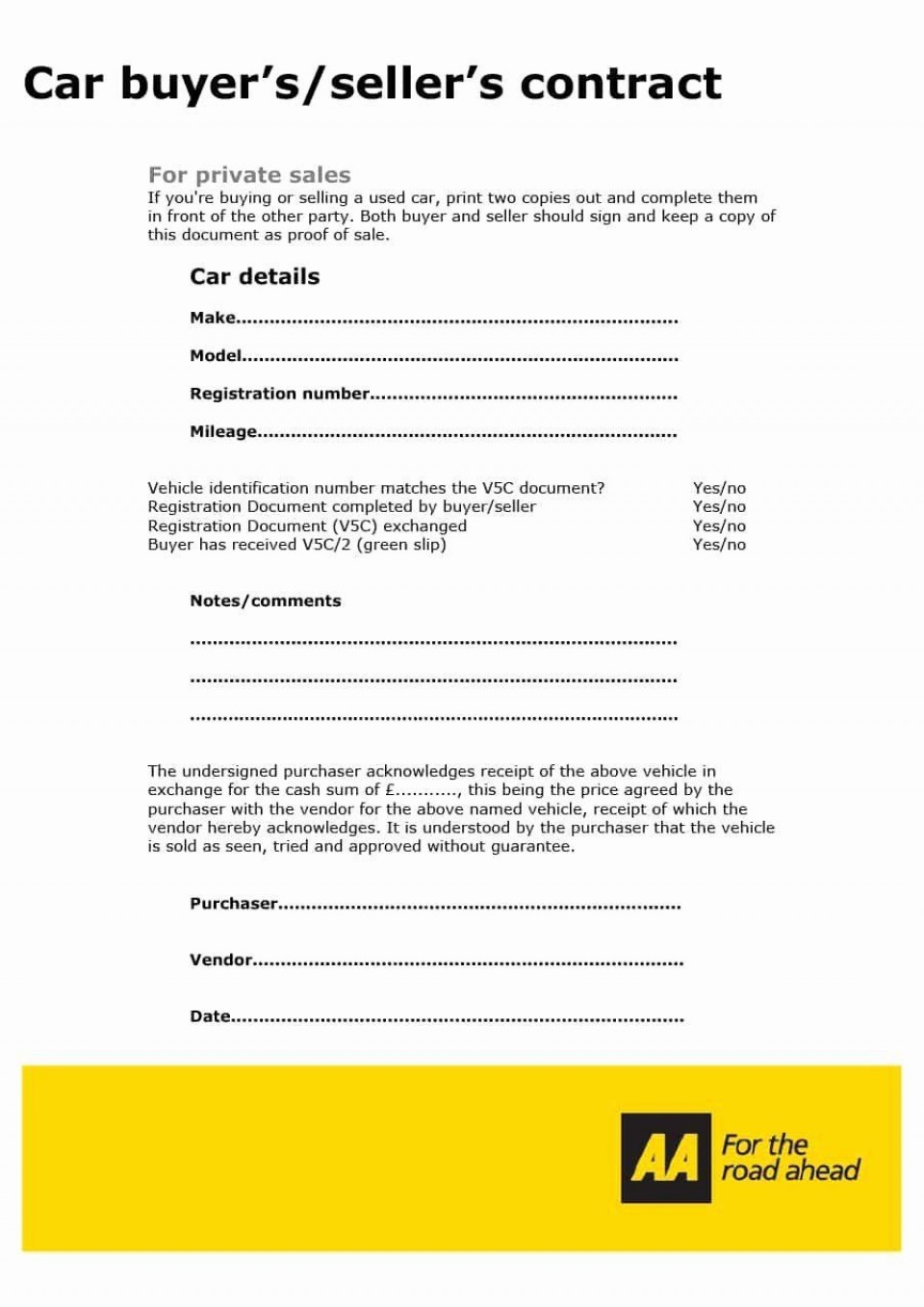 001 Simple Car Rental Agreement Template South Africa High Def  Vehicle Rent To Own960