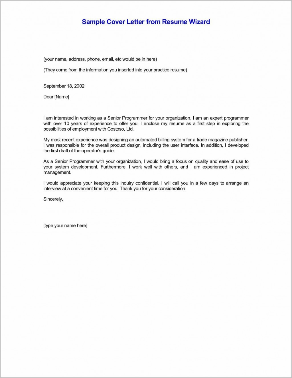 001 Simple Email Cover Letter Example For Resume Concept  Sample Through AttachedLarge