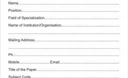 001 Simple Event Registration Form Template Design  Word Excel Microsoft