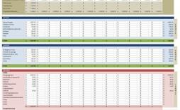 001 Simple Financial Plan Template Excel Image  Strategic Busines