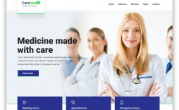 001 Simple Free Website Template Download Html And Cs Jquery For Hospital Highest Quality