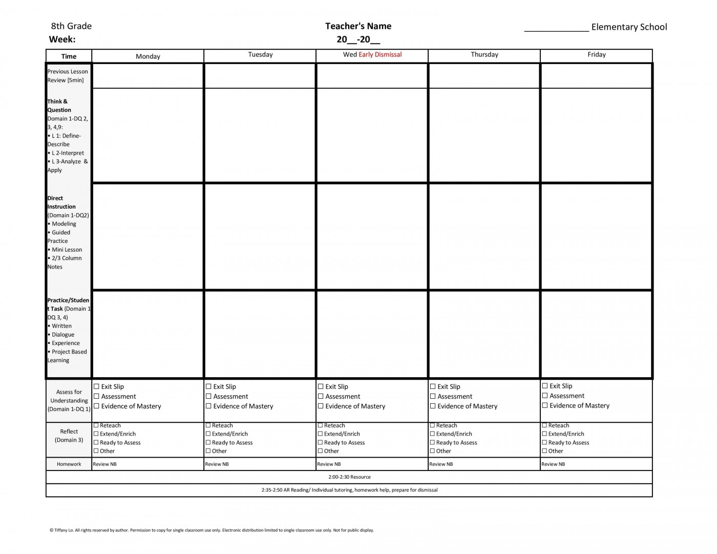 001 Simple Kindergarten Lesson Plan Template With Common Core Standard Design  Sample Using1400