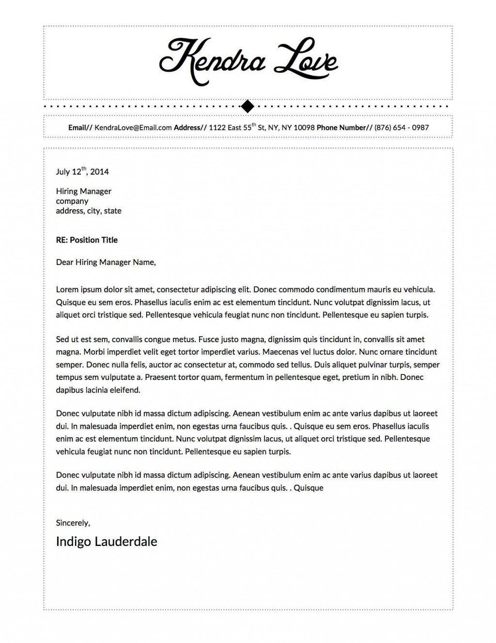 001 Simple Letter Template M Word Image  Fax Cover Microsoft Busines AuthorizationLarge