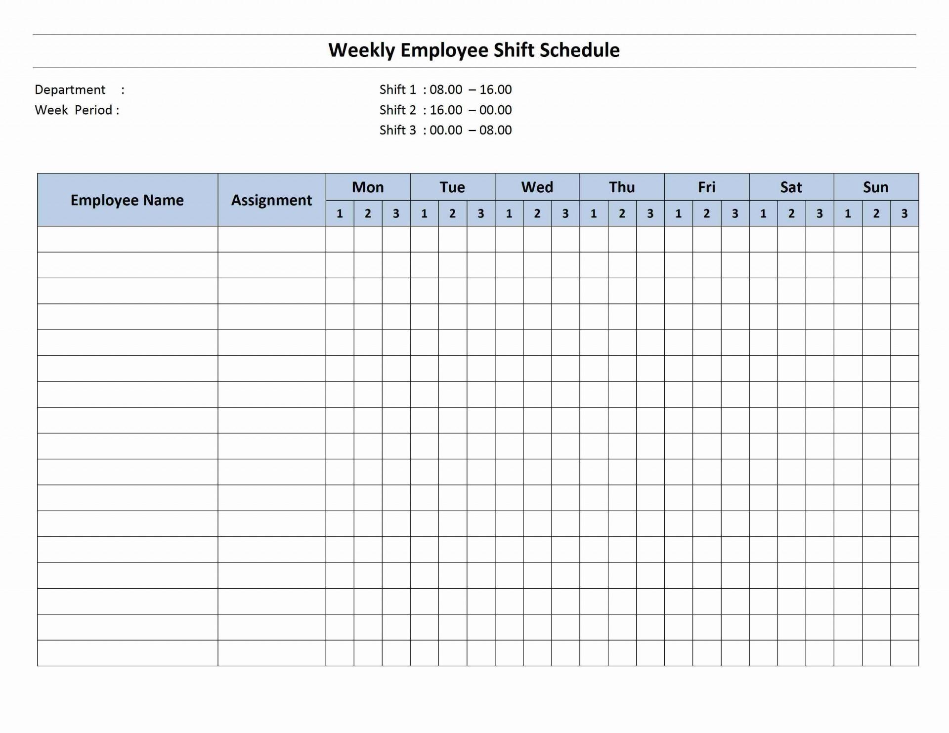 001 Simple Monthly Work Calendar Template Excel High Def  Employee Schedule Free1920