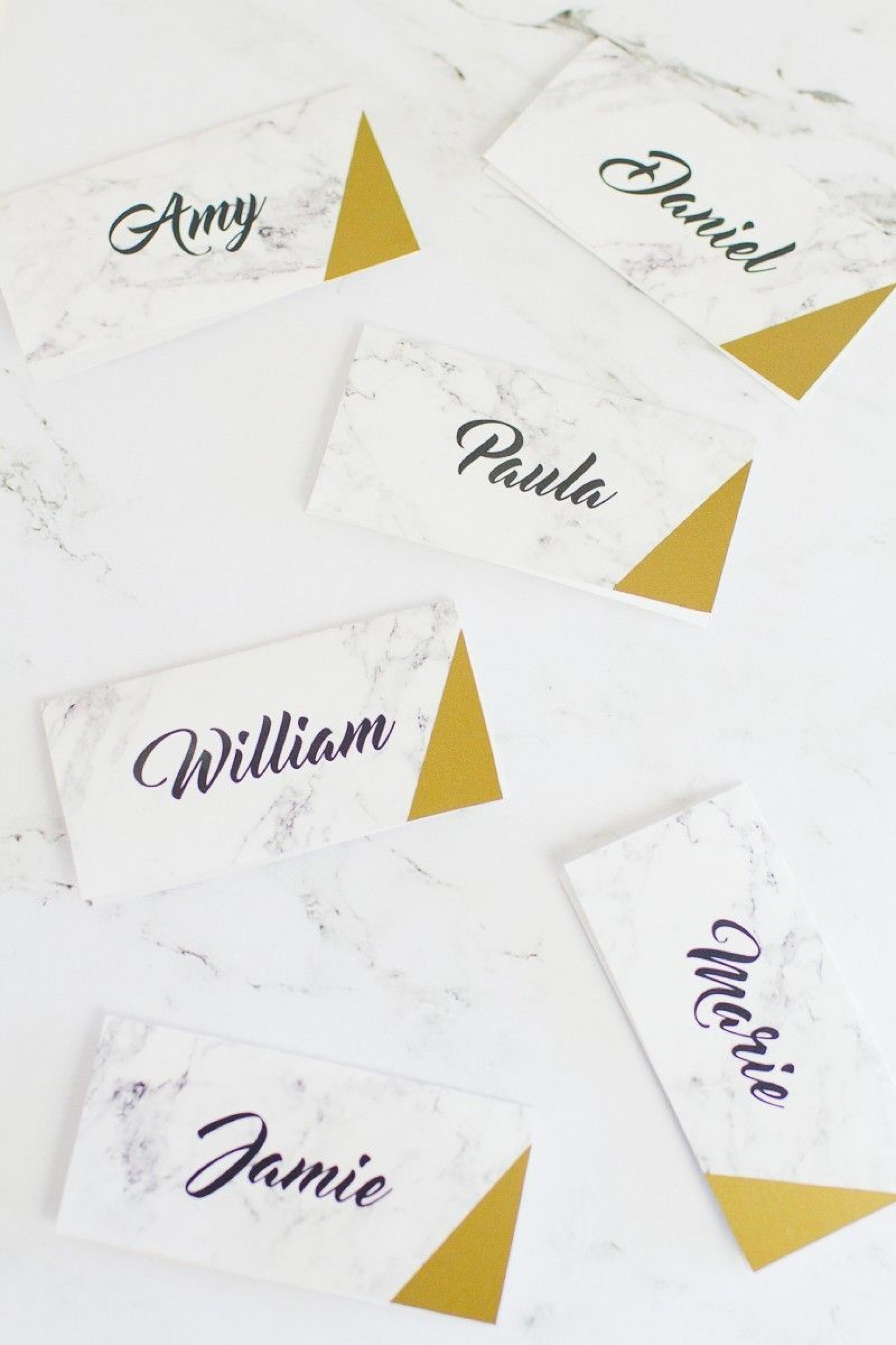 001 Simple Name Place Card Template Free Download Highest Quality  Psd Vector1920