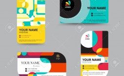 001 Simple Name Tag Design Template Inspiration  Free Download Psd