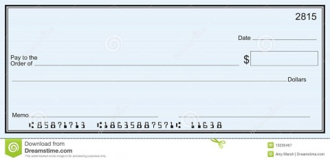 001 Simple Quickbook Check Template Word Picture 480