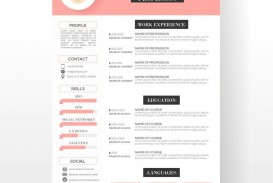 001 Simple Resume Template Download Word Picture  Cv Free 2019 Example File