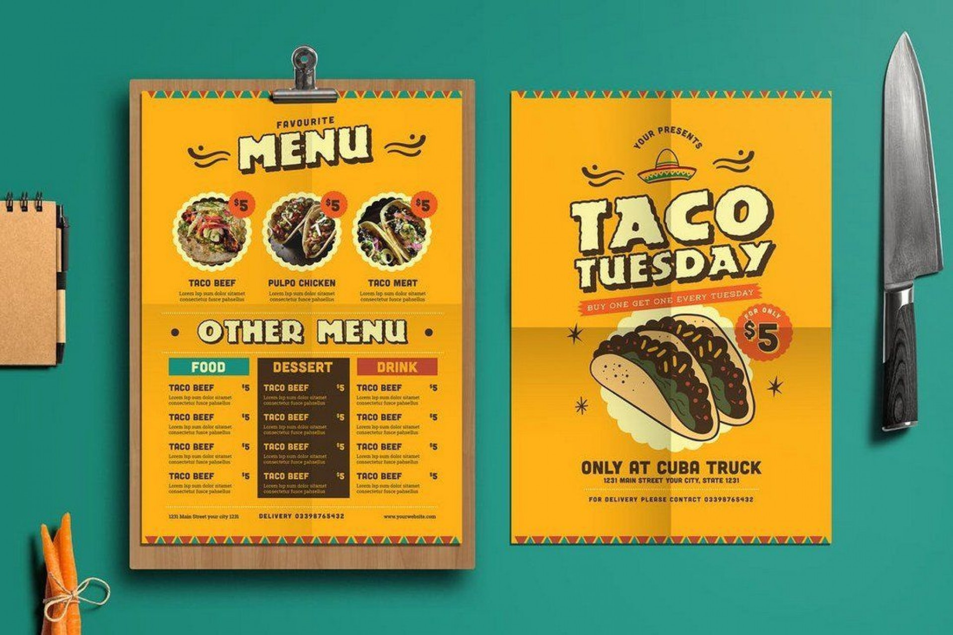 001 Simple Take Out Menu Template High Def  Tri Fold Free Word Restaurant Away1920