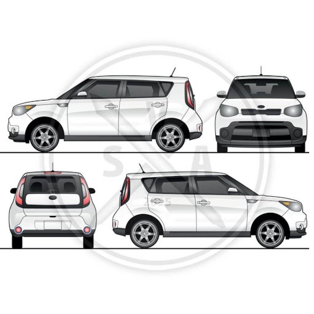 001 Simple Vehicle Wrap Template Free Download Highest Clarity  Downloads CarLarge