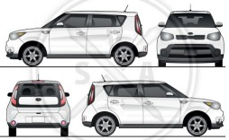 001 Simple Vehicle Wrap Template Free Download Highest Clarity  Downloads Car
