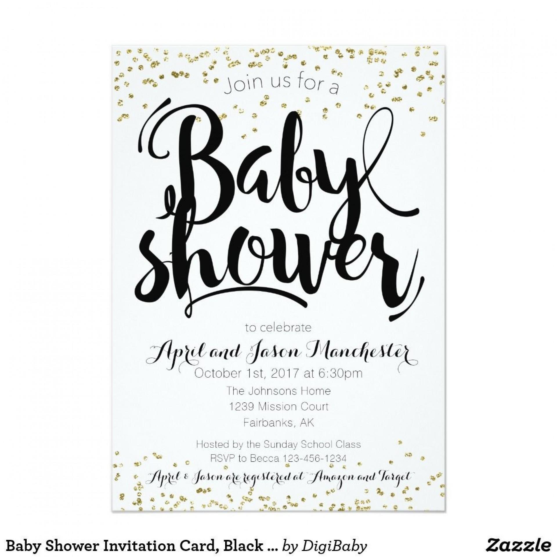 001 Singular Baby Shower Card Printable Black And White High Def 1920