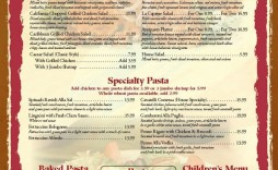 001 Singular Blank Restaurant Menu Template High Resolution  Free Printable Downloadable