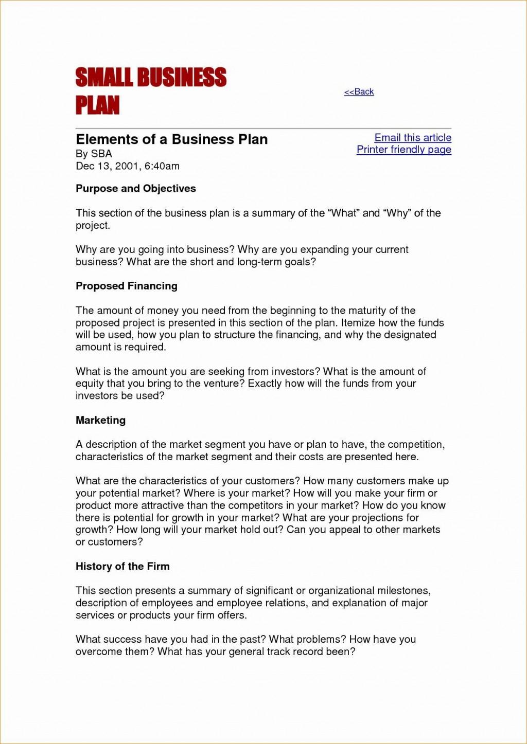 001 Singular Busines Plan Format Word Doc High Def  Template Free Download Example DocumentLarge
