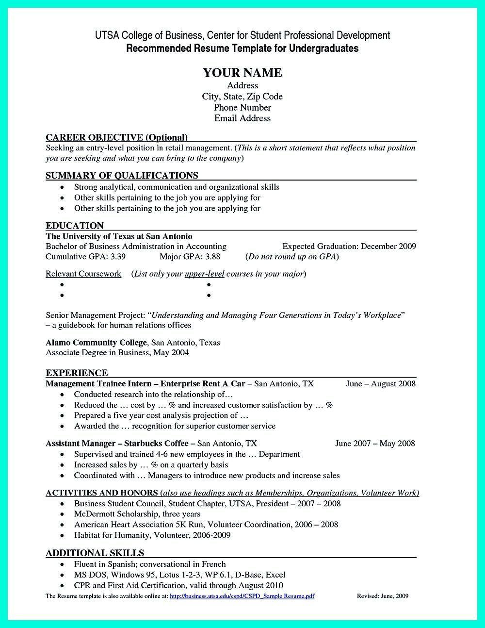 001 Singular Current College Student Resume Template High Resolution Full