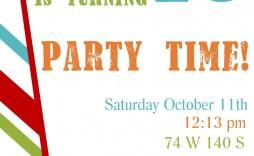 001 Singular Free Birthday Party Invitation Template Idea  Templates Printable 16th Australia Uk