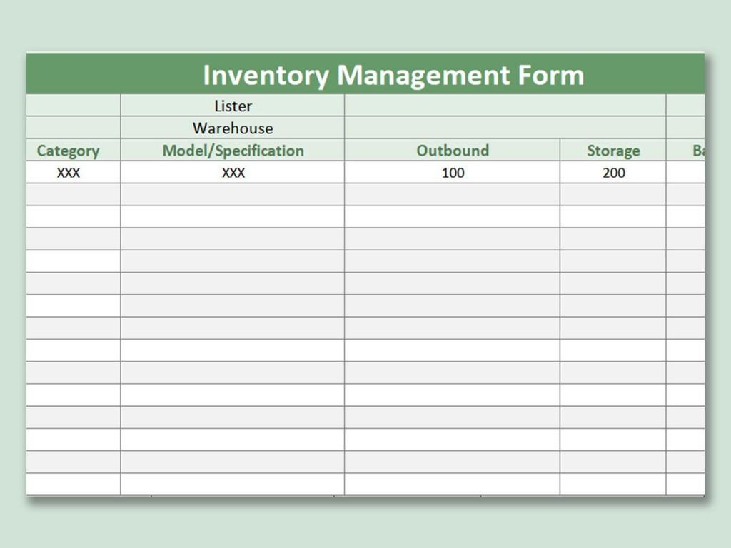 001 Singular Free Excel Stock Inventory Template Idea  SimpleLarge