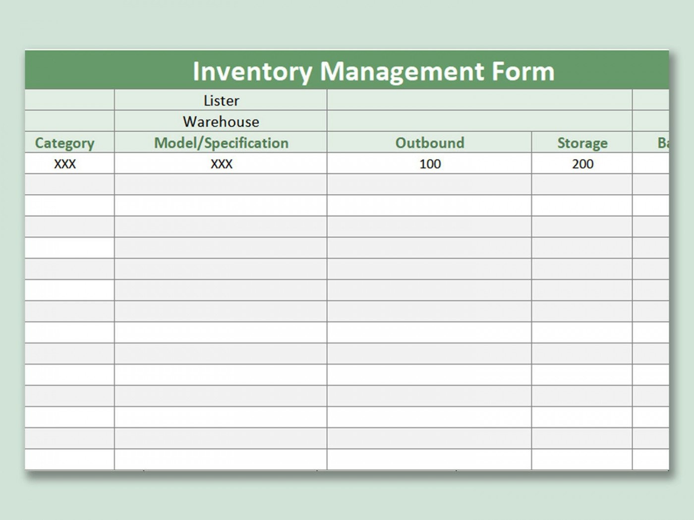001 Singular Free Excel Stock Inventory Template Idea  Simple1400