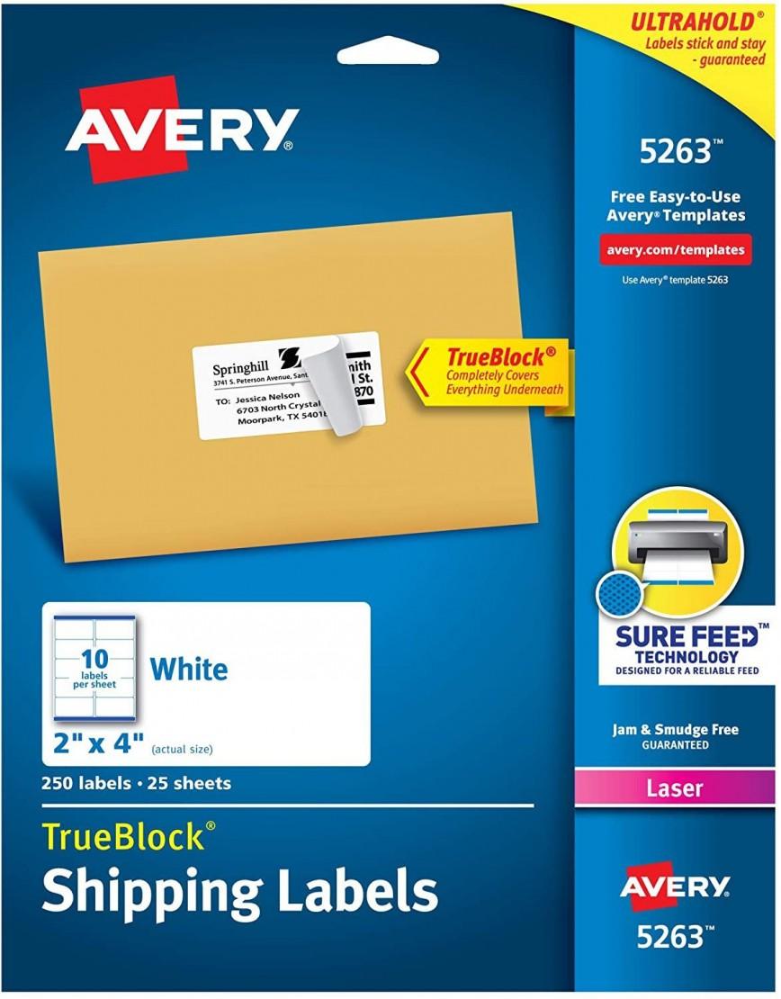 001 Singular Free Online Shipping Label Template Photo 868