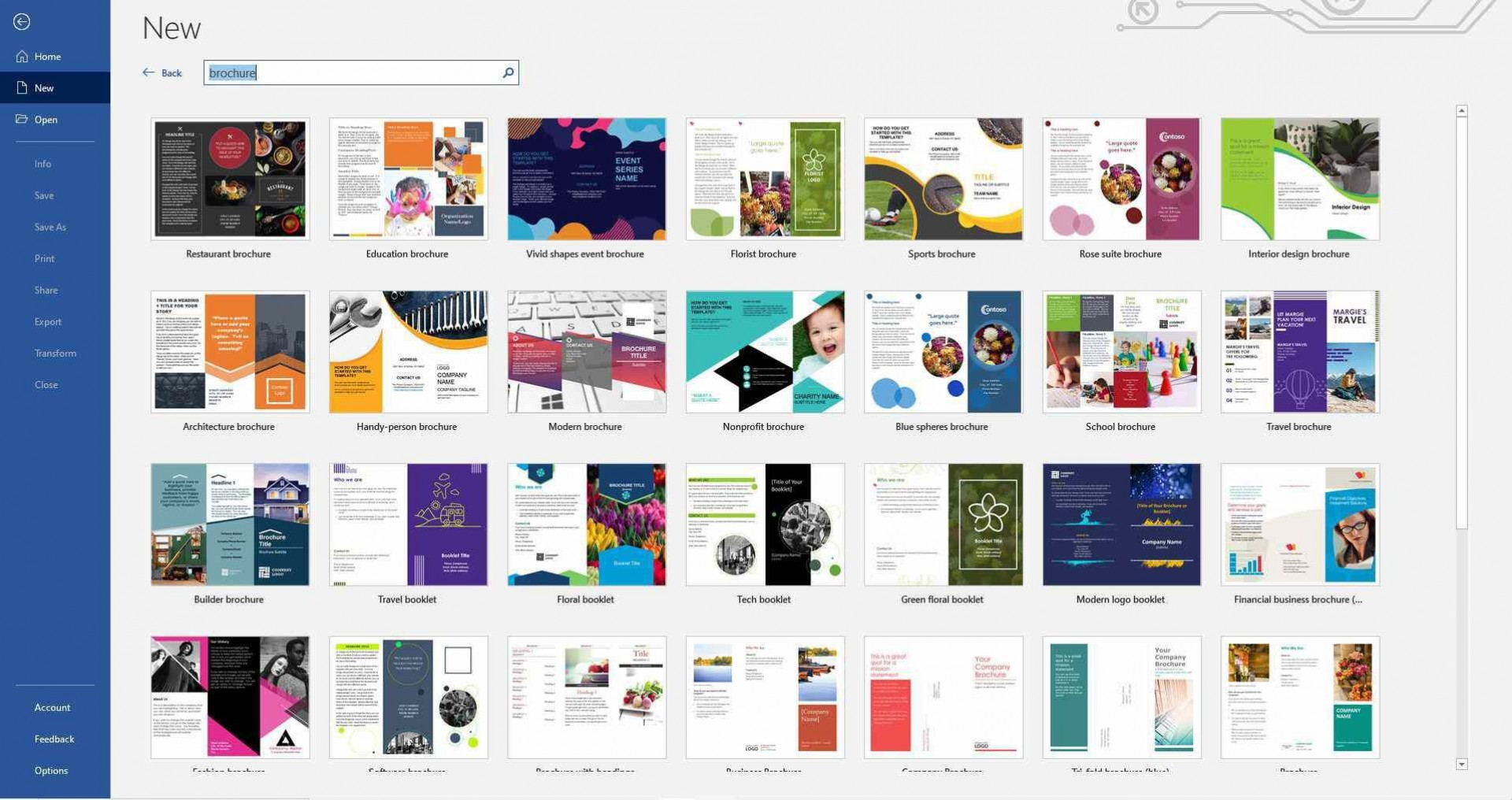 001 Singular M Word 2007 Brochure Template Example  Templates Microsoft Office Download For Free1920