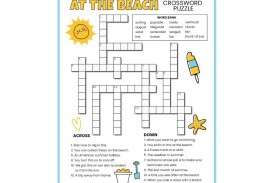 001 Singular Printable Crossword Puzzle For Kid Highest Quality