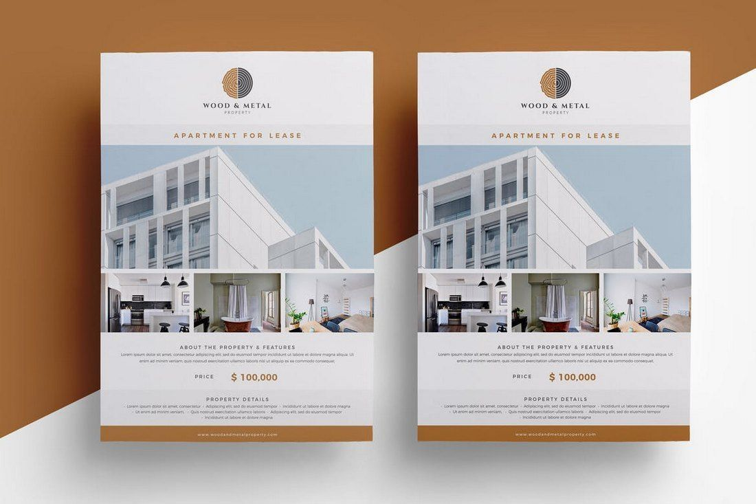 001 Singular Real Estate Ad Template High Def  Templates Commercial Free Listing Flyer InstagramFull