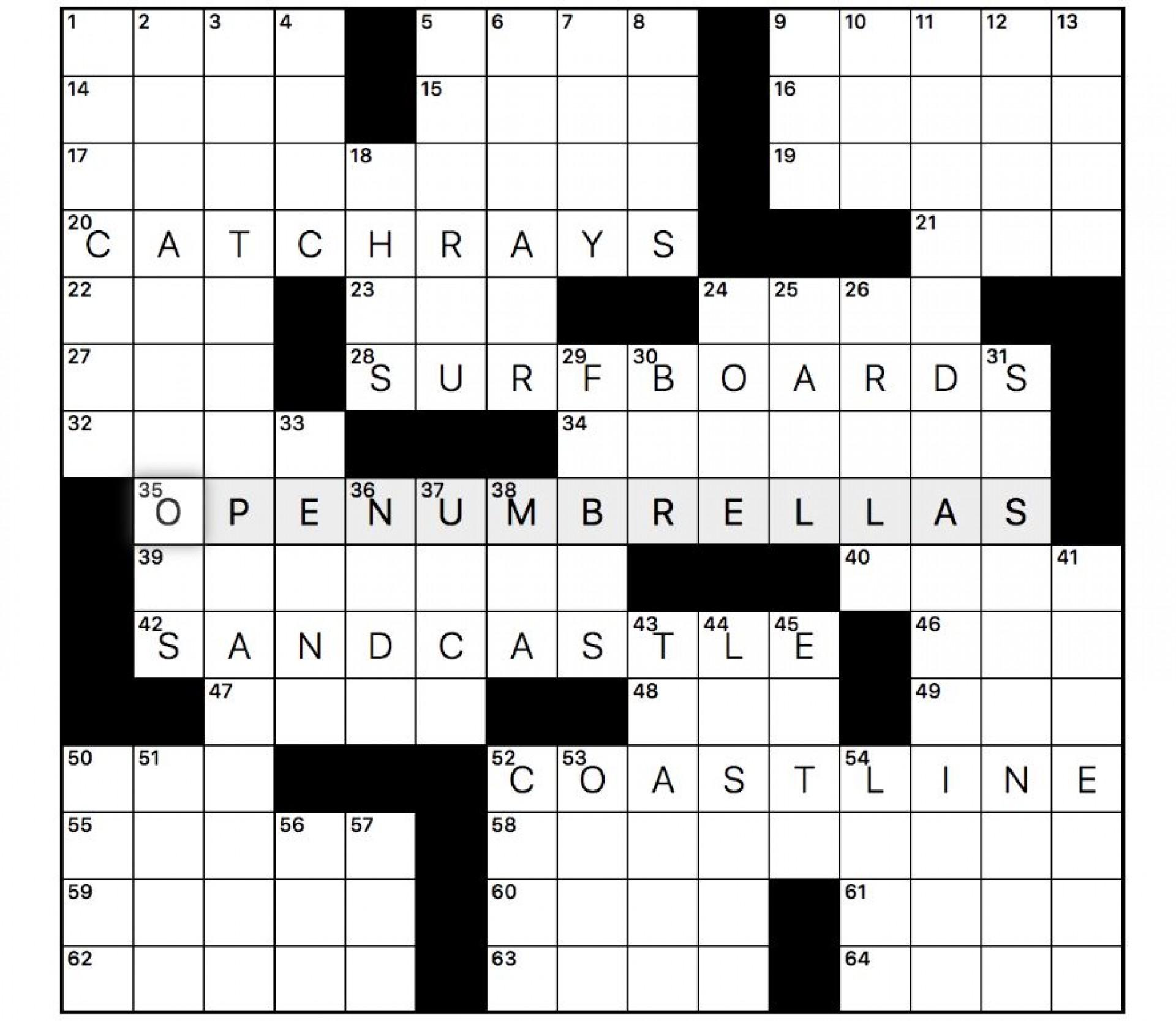 001 Singular Robust Crossword Clue Idea  Strong Effect 6 Letter Very Dan Word1920
