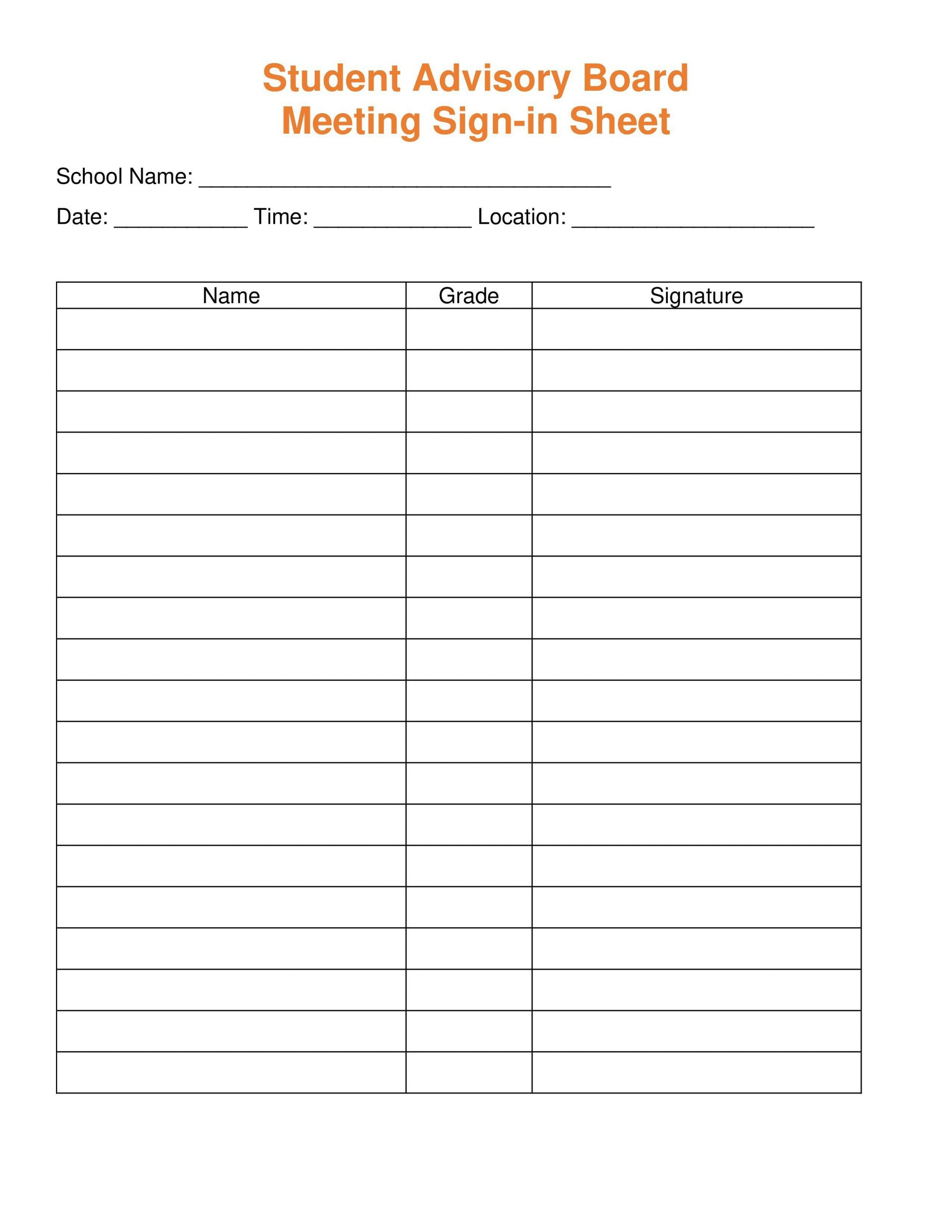 001 Singular Sign In Sheet Template Word High Def  Document Training1920