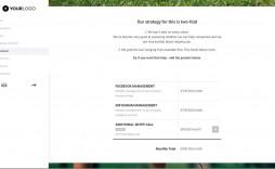001 Singular Social Media Marketing Proposal Template Idea  Plan Free Download Pdf Word