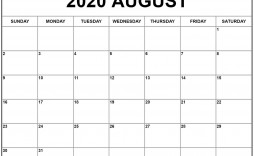 001 Staggering 2020 Monthly Calendar Template Example  Templates Word Australian Free