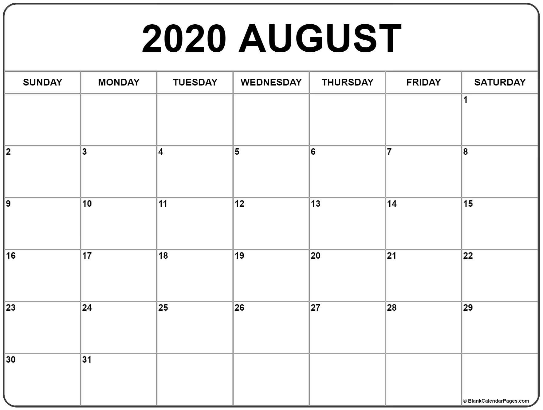001 Staggering 2020 Monthly Calendar Template Example  Templates Word Australian FreeFull