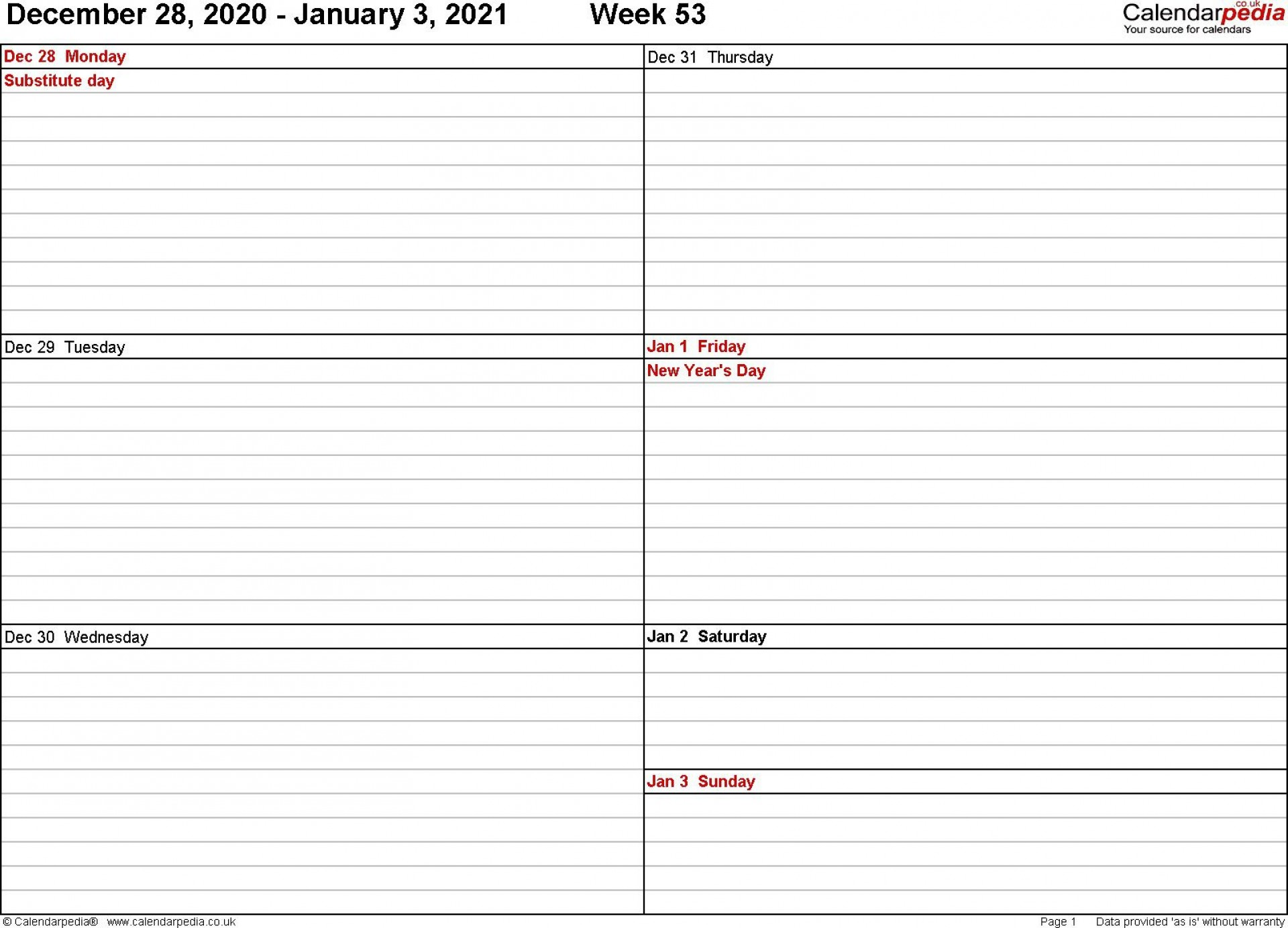 001 Staggering 2021 Work Week Calendar Template Excel Inspiration  Uk Malaysia Weekly1920