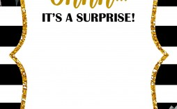001 Staggering 70th Birthday Invitation Template Free Picture  Surprise Invite With Photo
