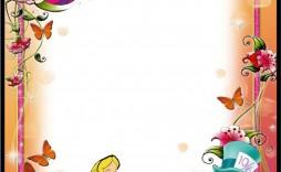 001 Staggering Alice In Wonderland Party Template Idea  Templates Invitation Free