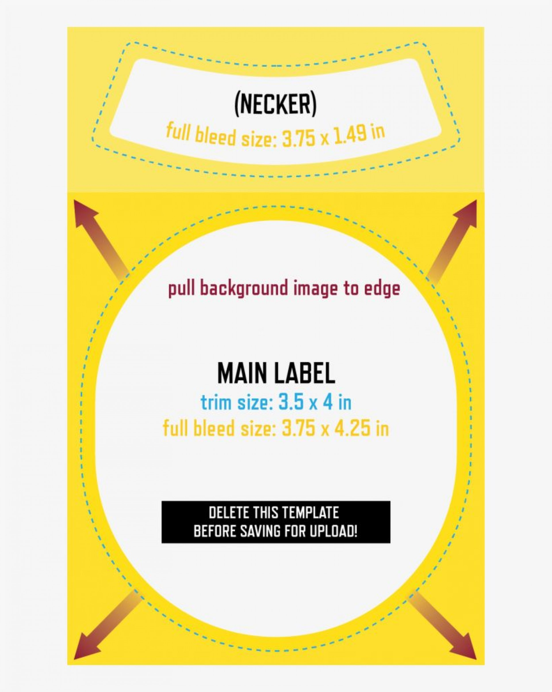 001 Staggering Beer Bottle Label Template High Def  Free Dimension Word1920