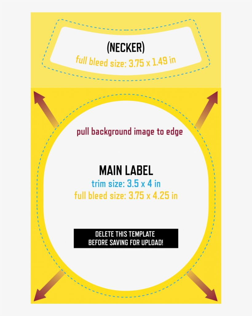 001 Staggering Beer Bottle Label Template High Def  Free Dimension WordFull