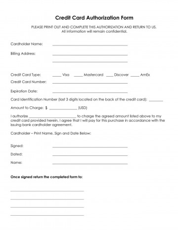 001 Staggering Credit Card Authorization Template Example  Form For Travel Agency Free Download Google Doc360