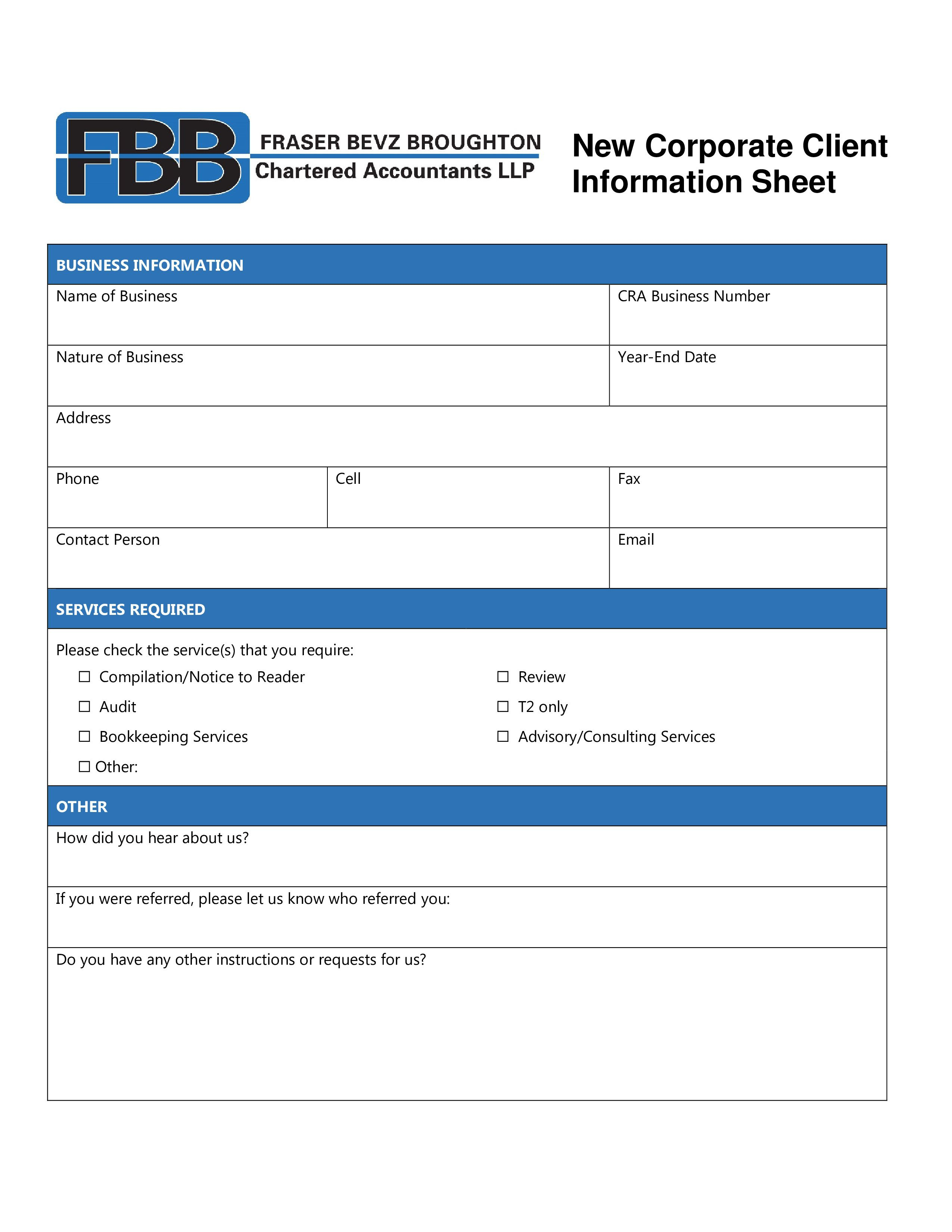 001 Staggering Customer Information Sheet Template Image  New Info Excel SpreadsheetFull