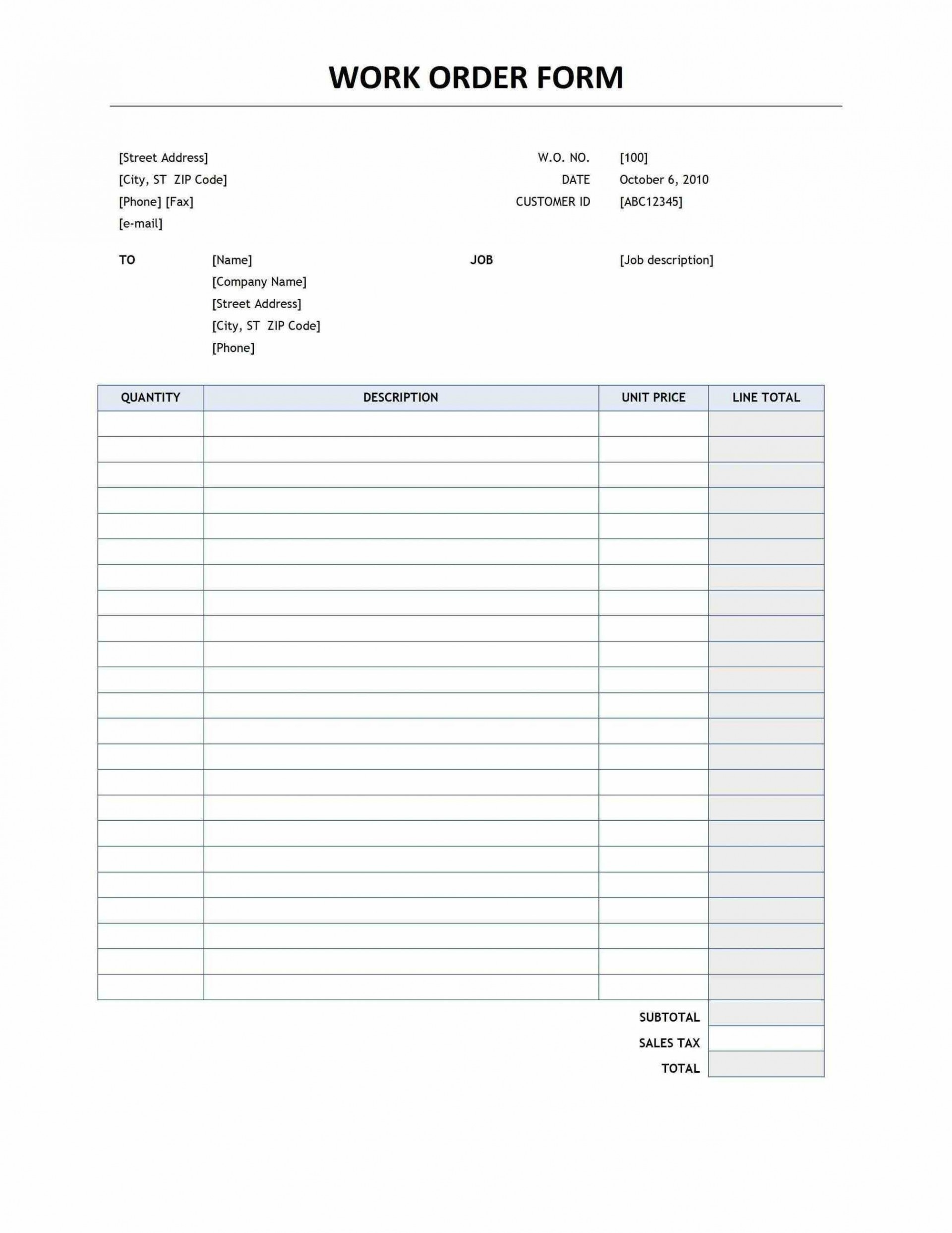 001 Staggering Food Order Form Template Word High Definition 1920