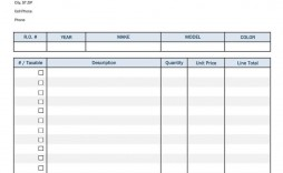 001 Staggering Free Auto Repair Shop Invoice Template High Definition