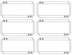 001 Staggering Free Printable Ticket Template Sample  Editable Airline Christma For Gift