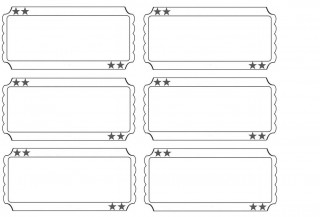 001 Staggering Free Printable Ticket Template Sample  Editable Airline Christma For Gift320