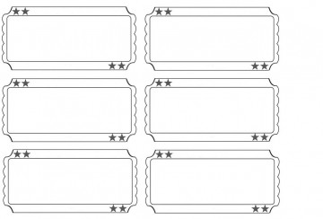 001 Staggering Free Printable Ticket Template Sample  Editable Airline Christma For Gift360