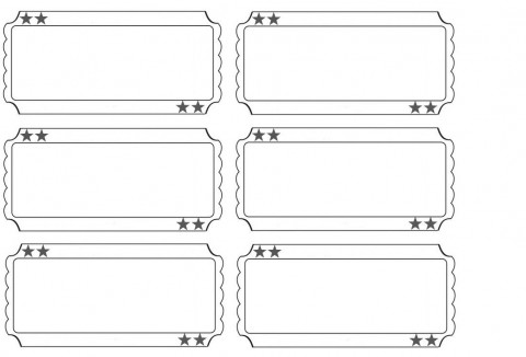 001 Staggering Free Printable Ticket Template Sample  Editable Airline Christma For Gift480