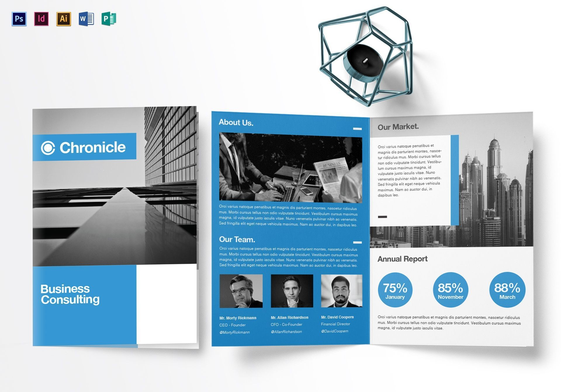 001 Staggering Half Fold Brochure Template Free High Resolution  Blank Microsoft Word1920